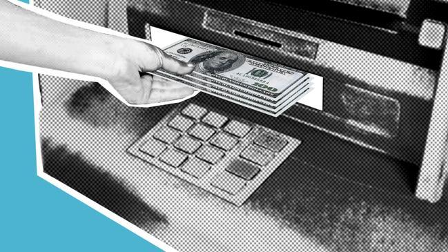 تسديد رسوم رخصة العمل عن طريق الصراف - كراسة
