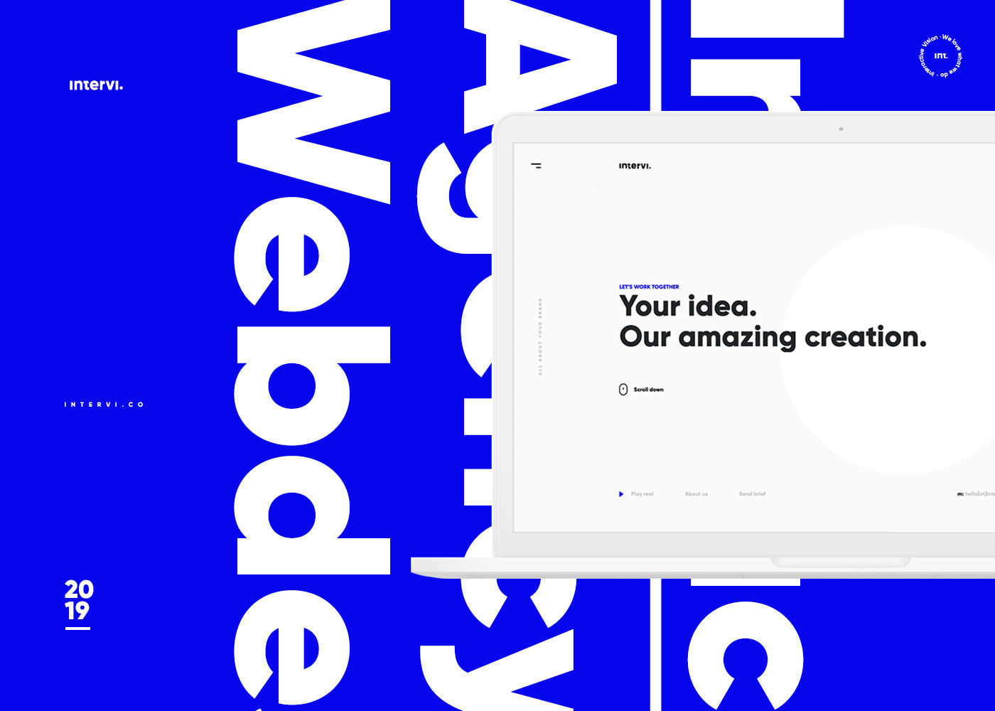 Intervi Agency Webdesign