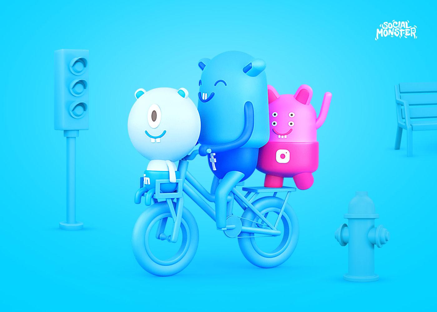 Social Monster Agency Rebranding – Brand heroes