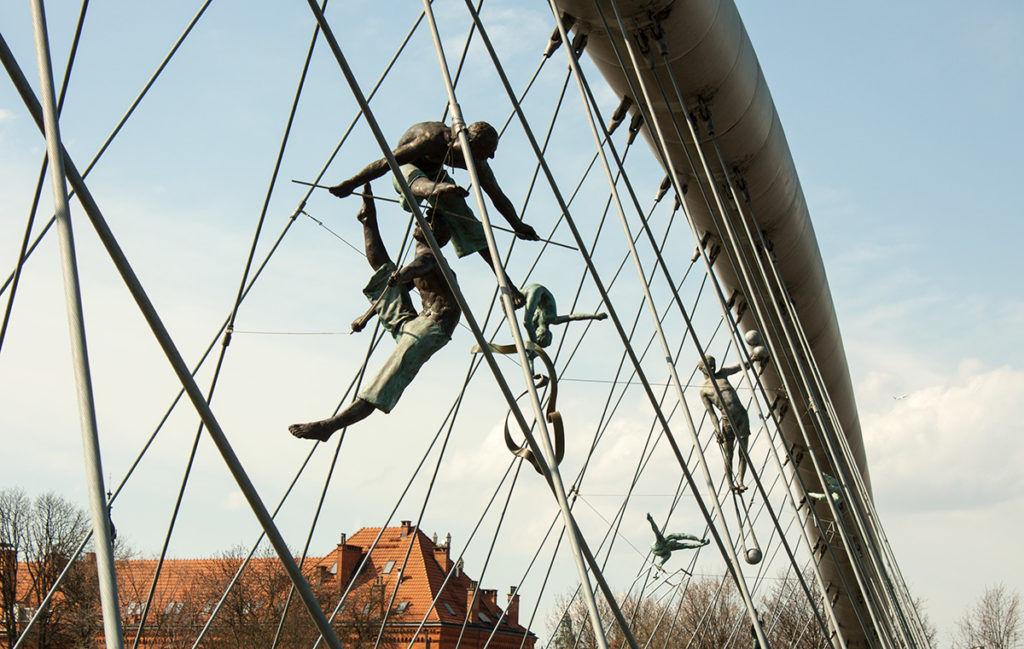 most krakow rzeżby