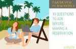 Car rental FAQs Mauritius
