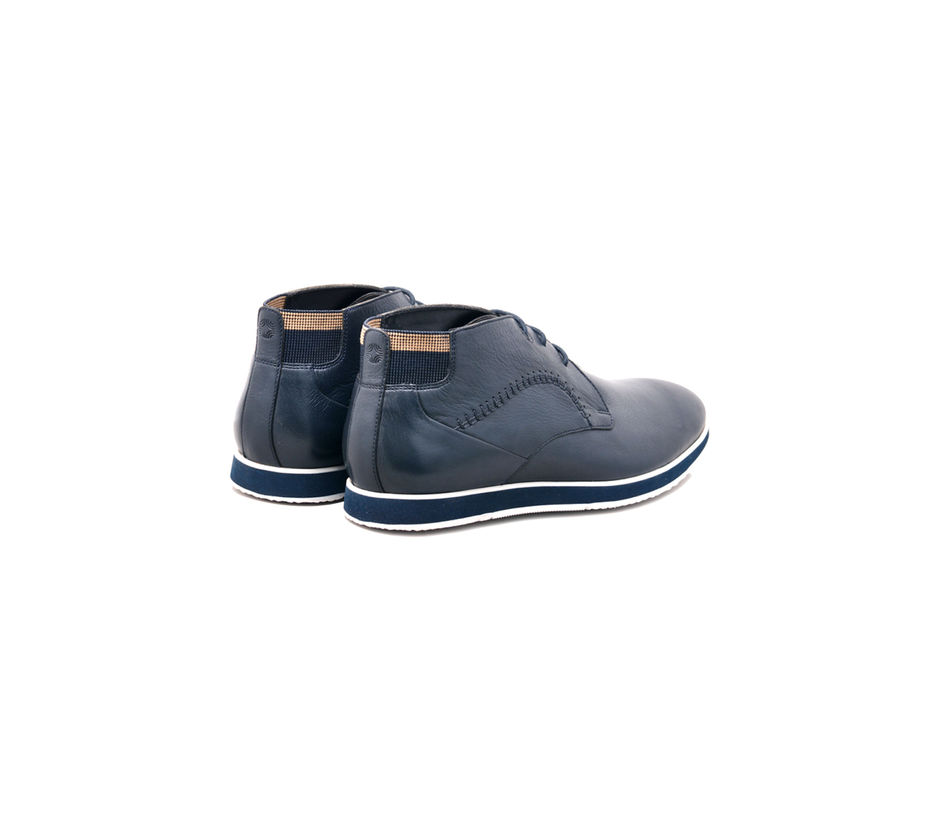 Navy Casual Lace-ups