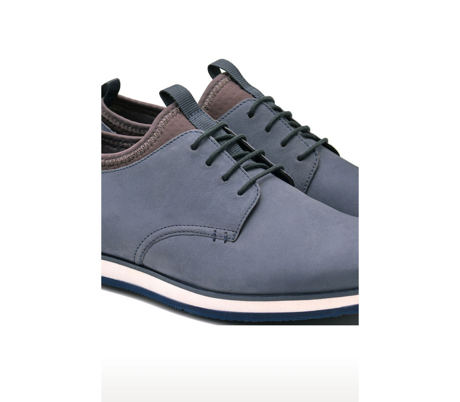 Casual Lace Up - Blue