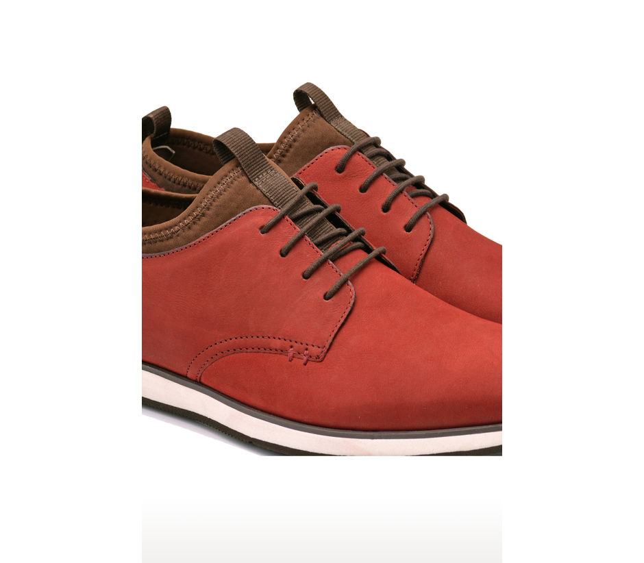 Casual Lace Up - Red