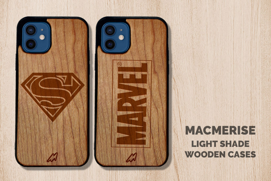 Light Shade Wooden Case