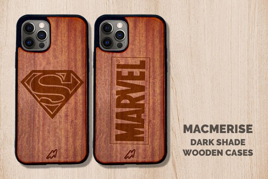 Dark Shade Wooden Case