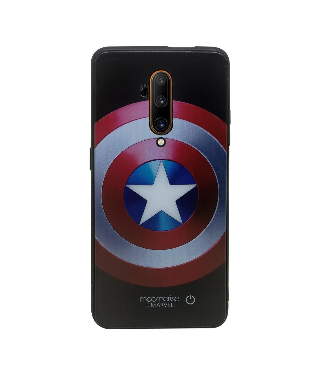 Classic Captains Shield - Lumous LED Phone Case for OnePlus 7T Pro