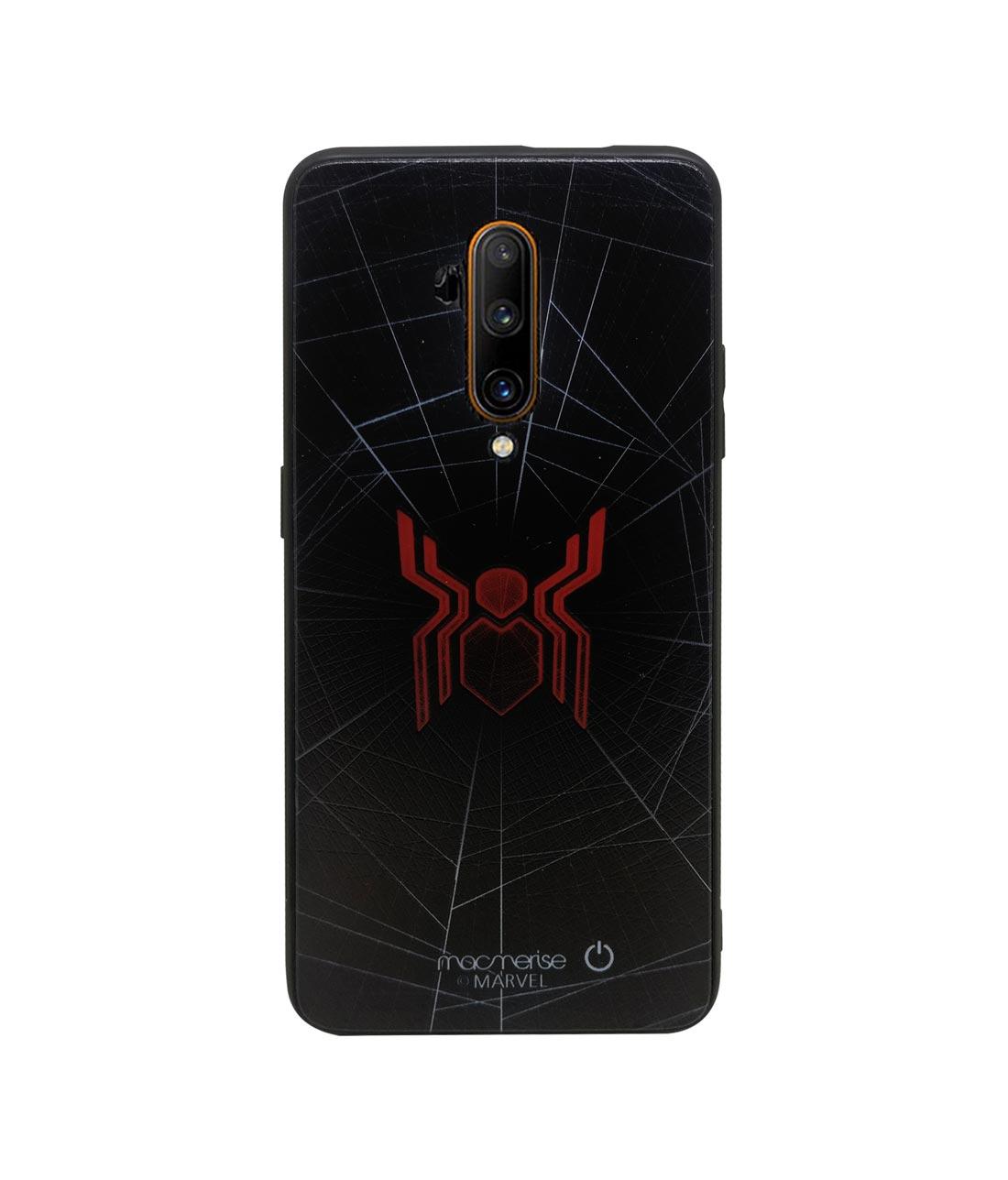 Spider Webbed - Lumous LED Phone Case for OnePlus 7T Pro
