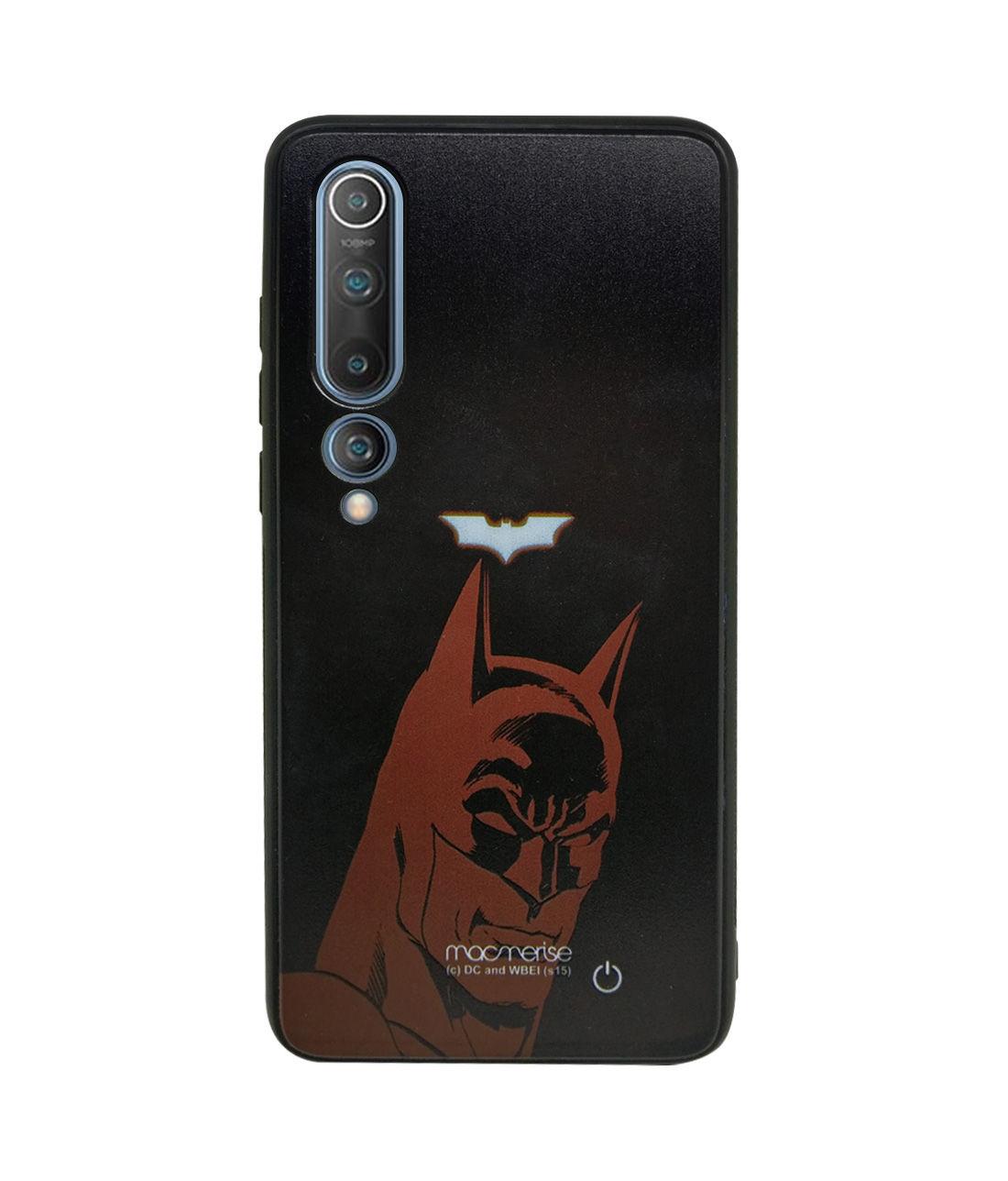 Silhouette Batman - Lumous LED Phone Case for Xiaomi Mi 10