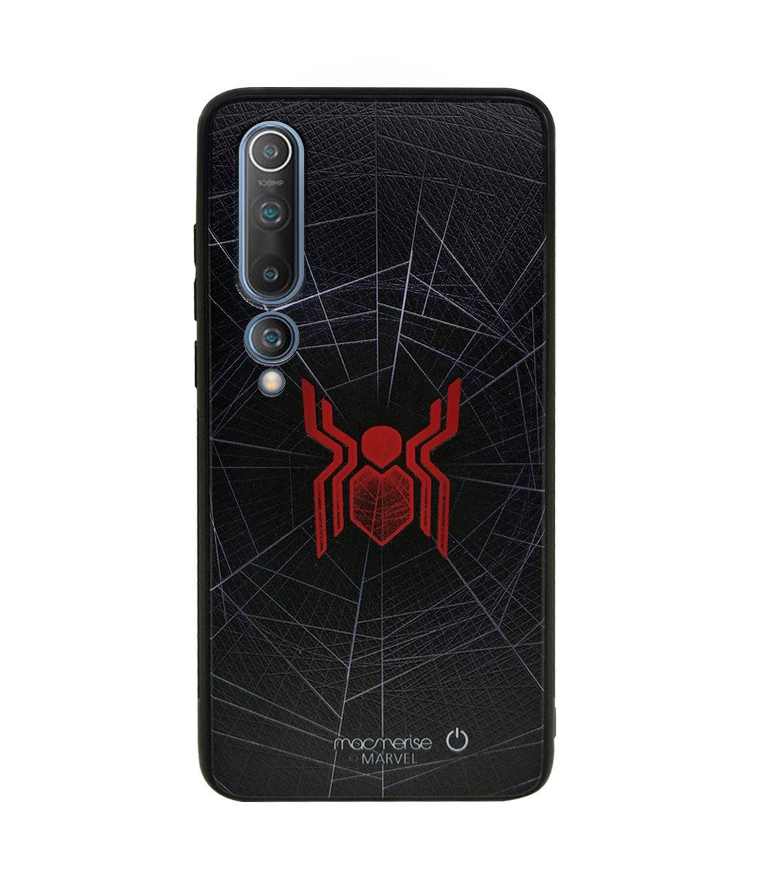 Spider Webbed - Lumous LED Phone Case for Xiaomi Mi 10