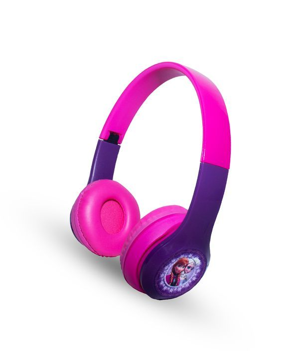 Frozen Purple Love - P47 Wireless On Ear Headphones