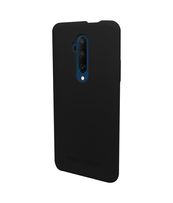Silicone Phone Case Midnight Black - Silicone Phone Case for OnePlus 7T Pro