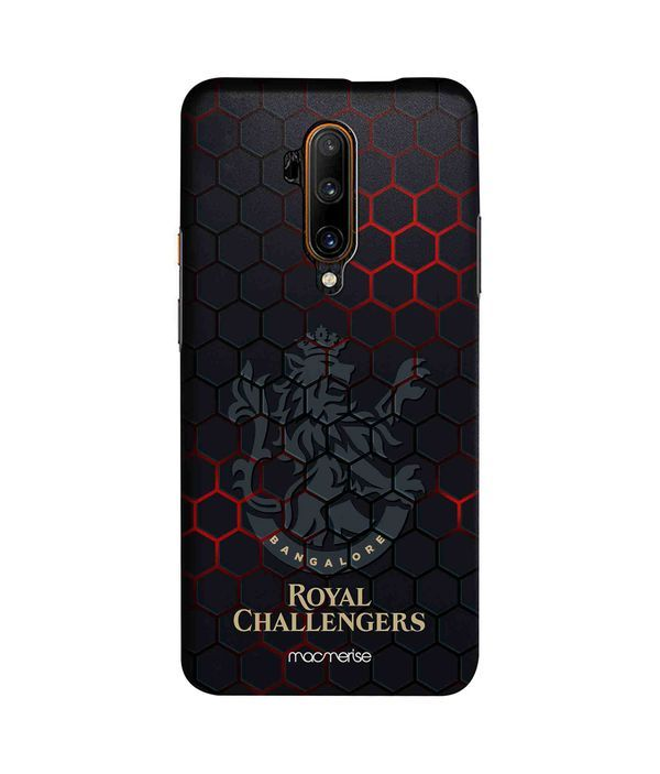 RCB Hex Pattern - Sleek Phone Case for OnePlus 7T Pro