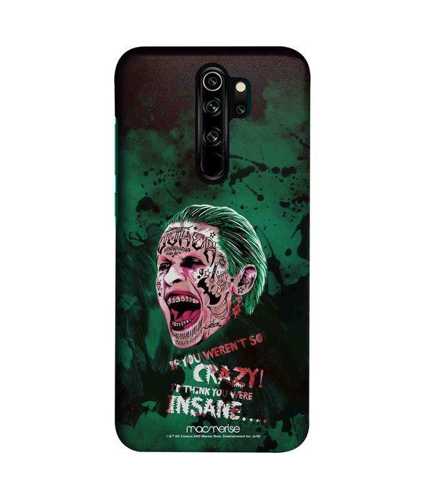 Crazy Insane Joker - Sleek Phone Case for Xiaomi Redmi Note 8 Pro