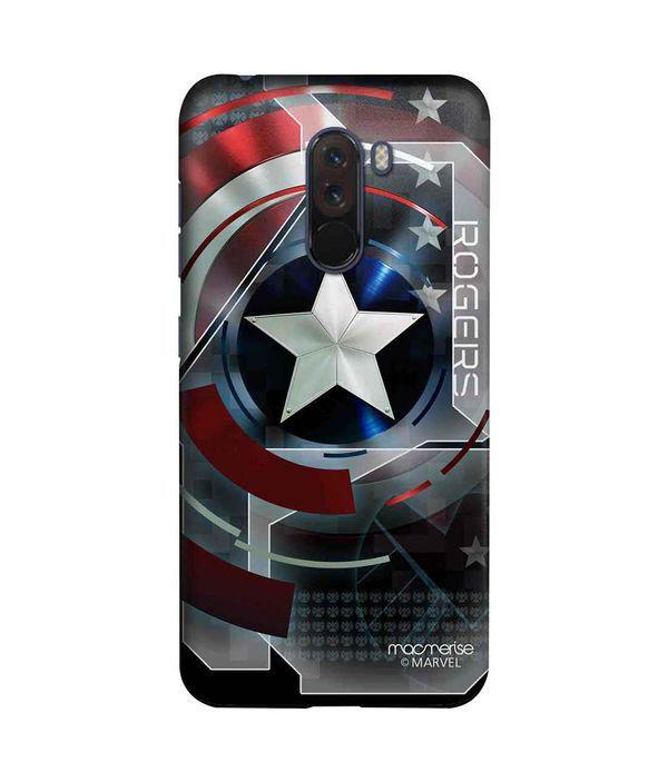 Cap Am Rogers - Sleek Phone Case for Xiaomi Poco F1