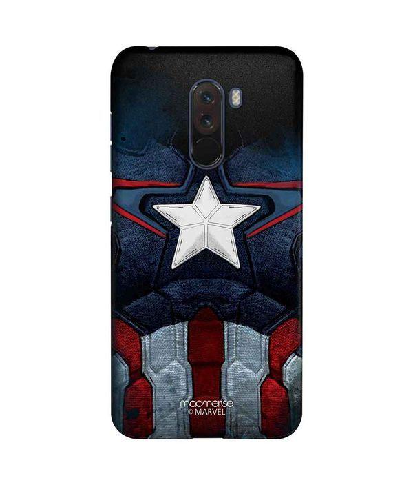 Cap Am Suit - Sleek Phone Case for Xiaomi Poco F1
