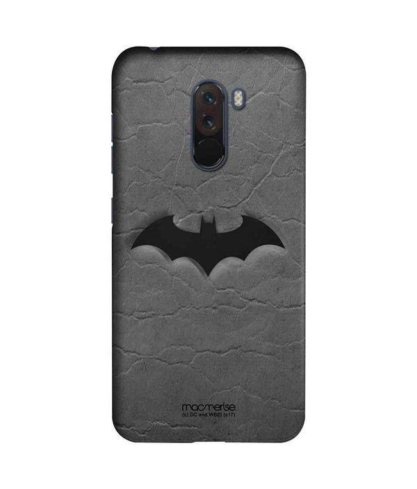 Fade Out Batman - Sleek Phone Case for Xiaomi Poco F1