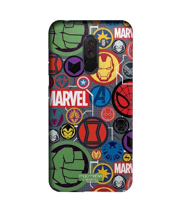 Marvel Iconic Mashup - Sleek Phone Case for Xiaomi Poco F1