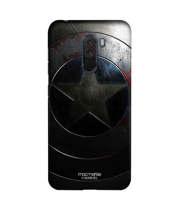 Rusted Captains Shield - Sleek Phone Case for Xiaomi Poco F1