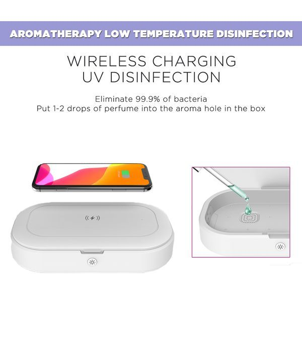 Macmerise UV Sanitizer & Wireless Charger Pro