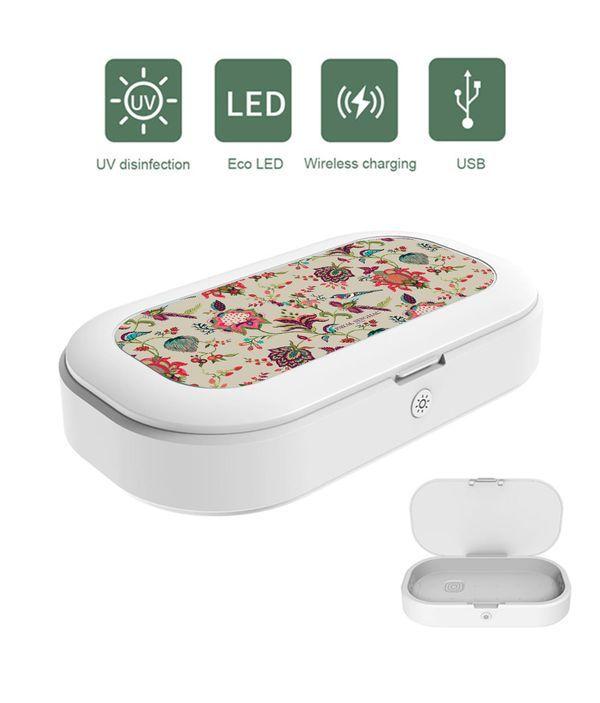 Payal Singhal Chidiya Beige - Macmerise UV Sanitizer & Wireless Charger Pro