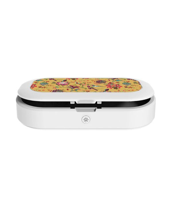 Payal Singhal Chidiya Mustard - Macmerise UV Sanitizer & Wireless Charger Pro