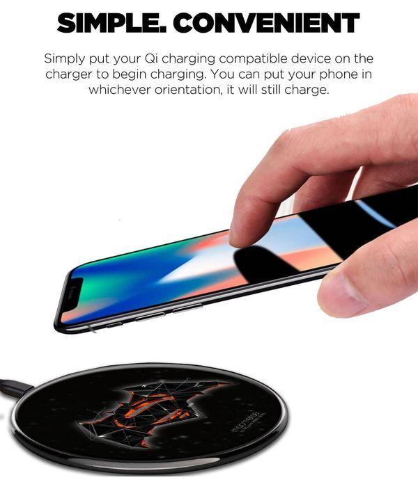 Bat Super Trace - Qi Compatible Pro Wireless Charger