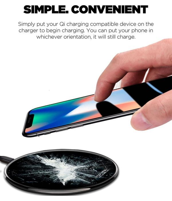 God of Gotham - Qi Compatible Pro Wireless Charger