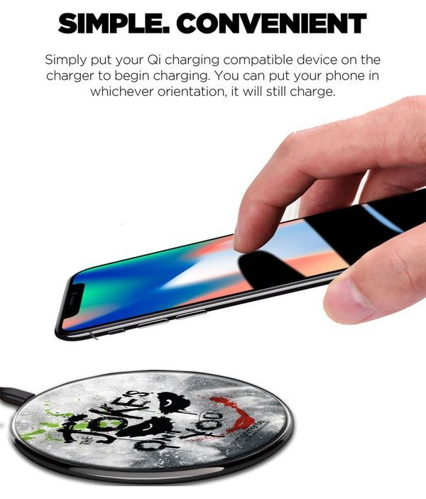 The Jokes on you - Qi Compatible Pro Wireless Charger