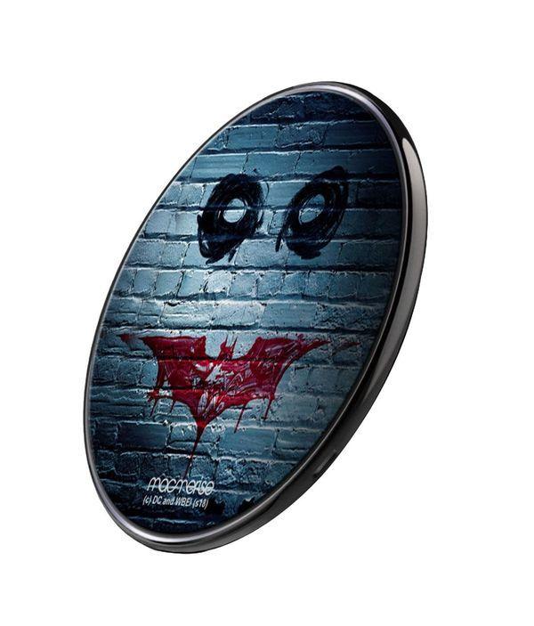 Bat Joker Graffiti - Qi Compatible Pro Wireless Charger