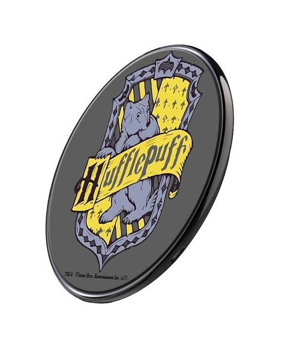 Crest Hufflepuff - Qi Compatible Pro Wireless Charger