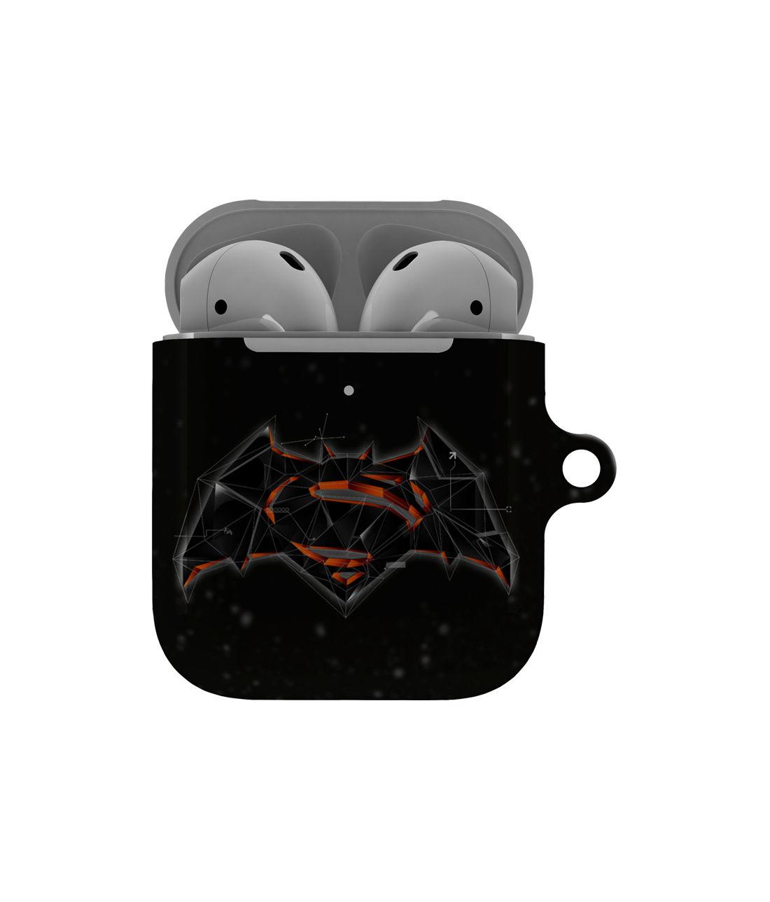 Bat Super Trace - Hard Shell Airpod Case