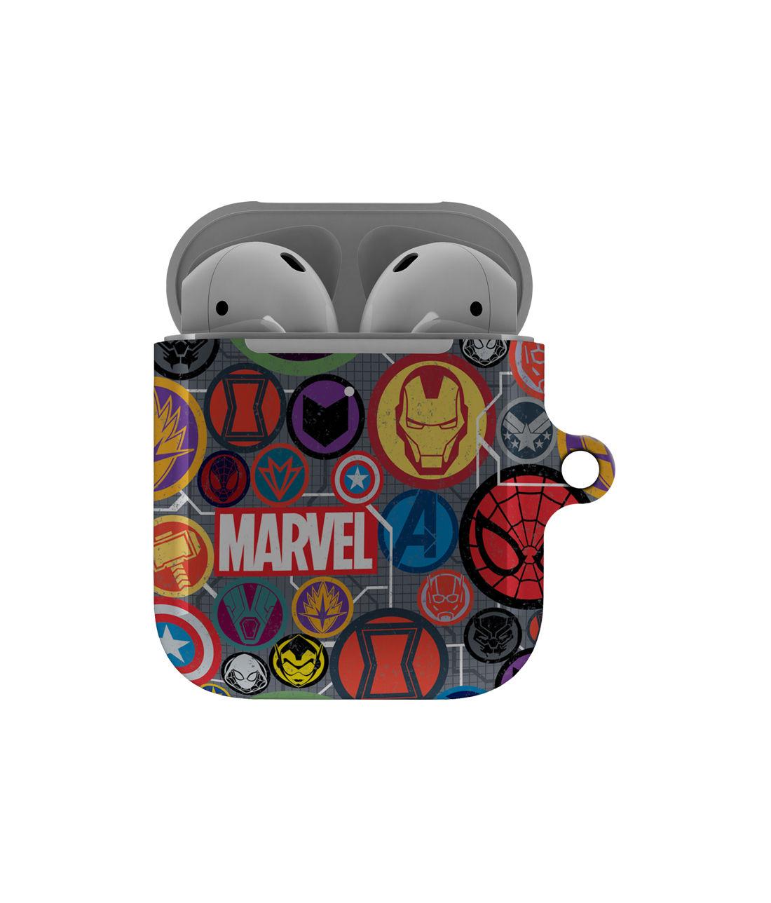 Marvel Iconic Mashup - Hard Shell Airpod Case