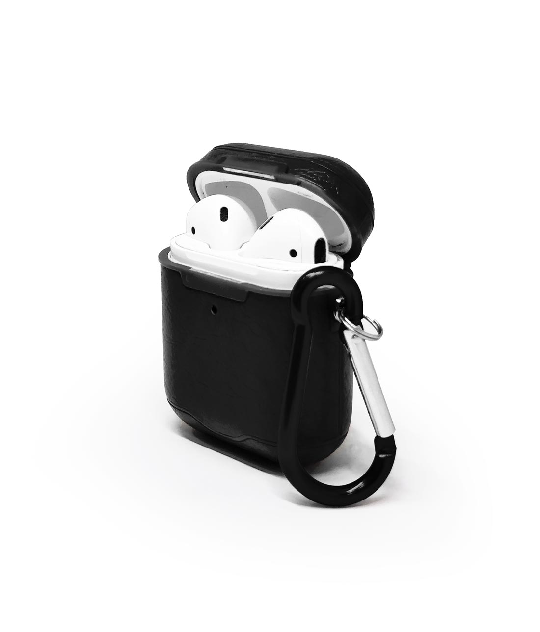 Leather Case Black - AirPods Case