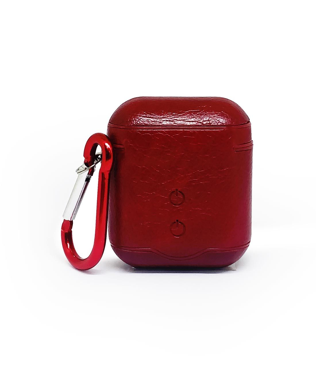Leather Case Red - AirPods Case
