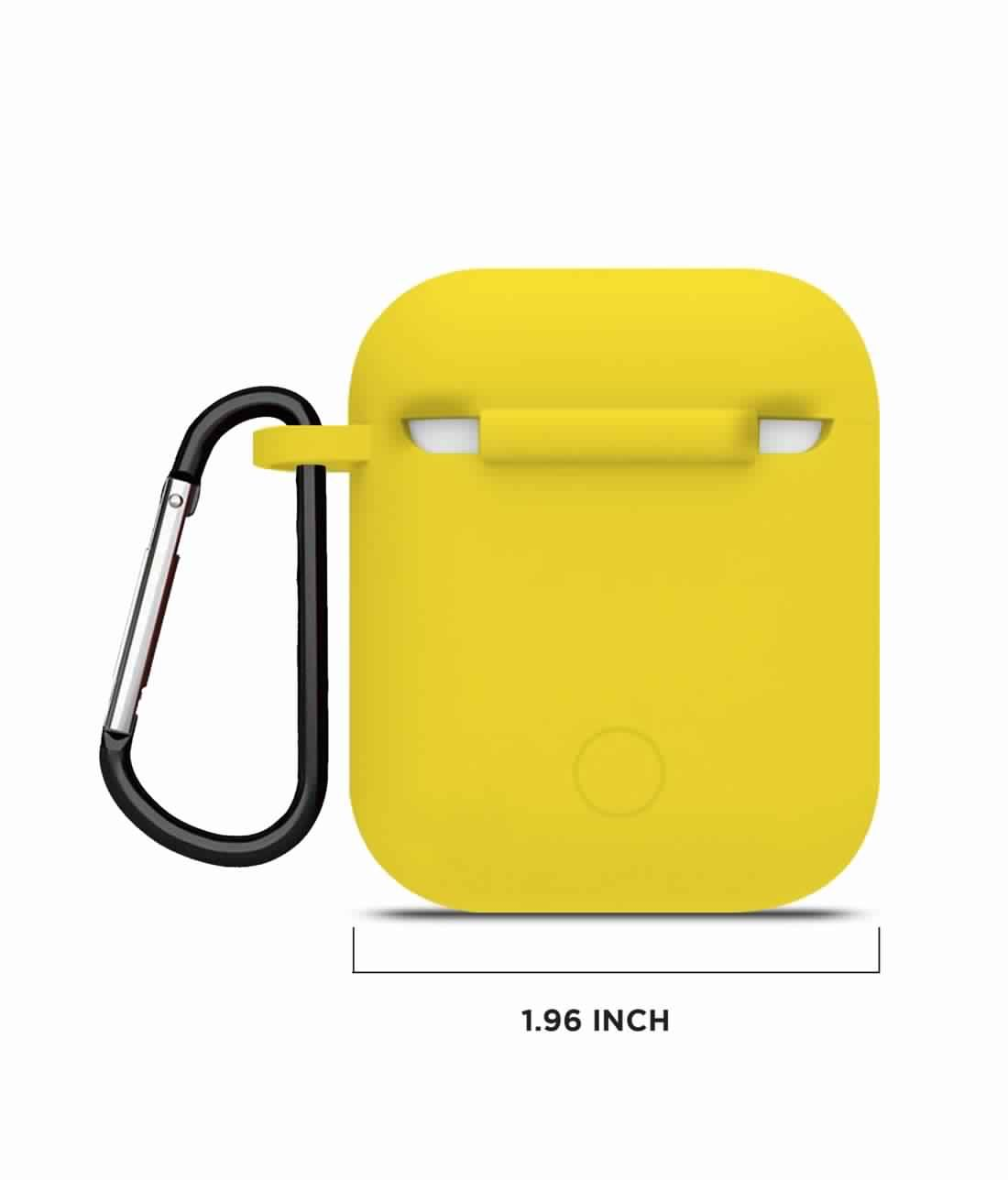 Silicone Case Yellow - AirPods Case