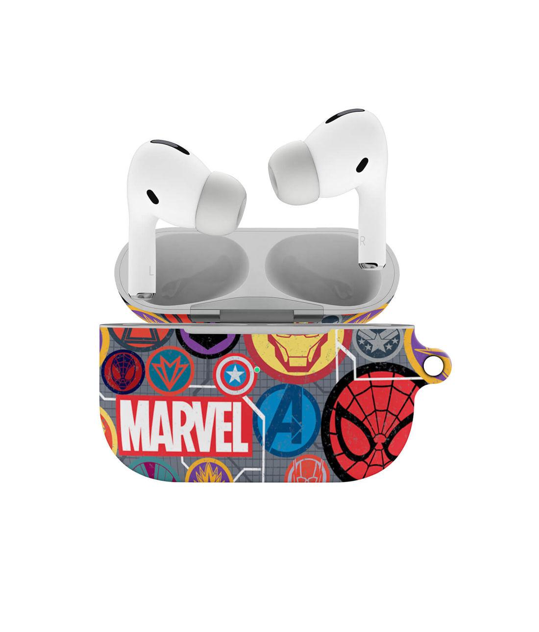 Marvel Iconic Mashup - Hard Shell Airpod Pro Case