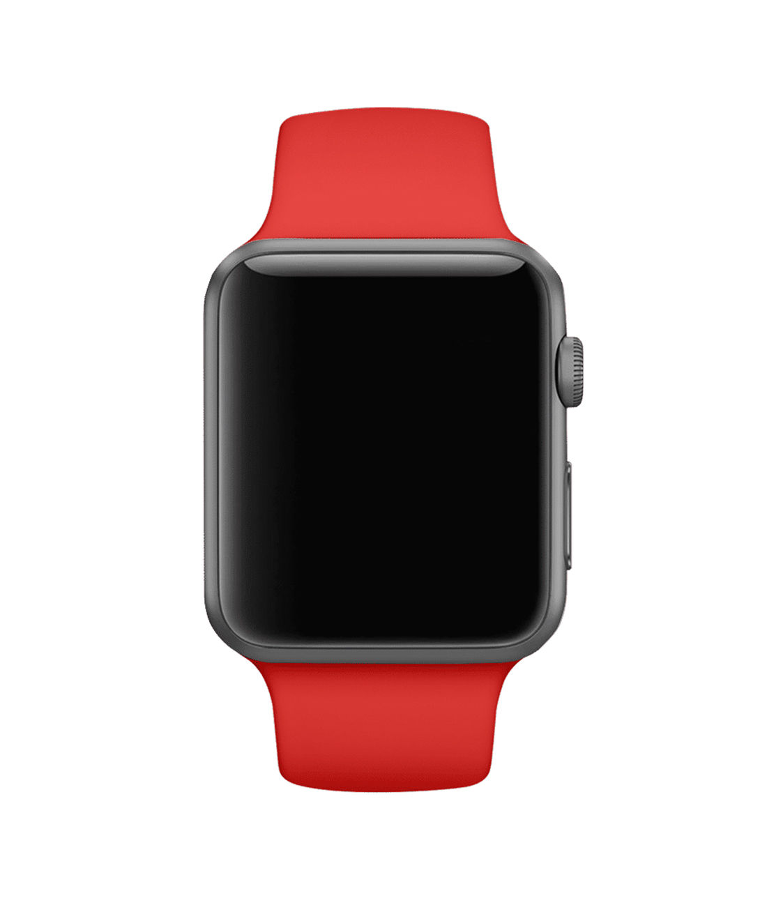 Crimson Red - Silicone Apple Watch Band  (38 / 40 MM)