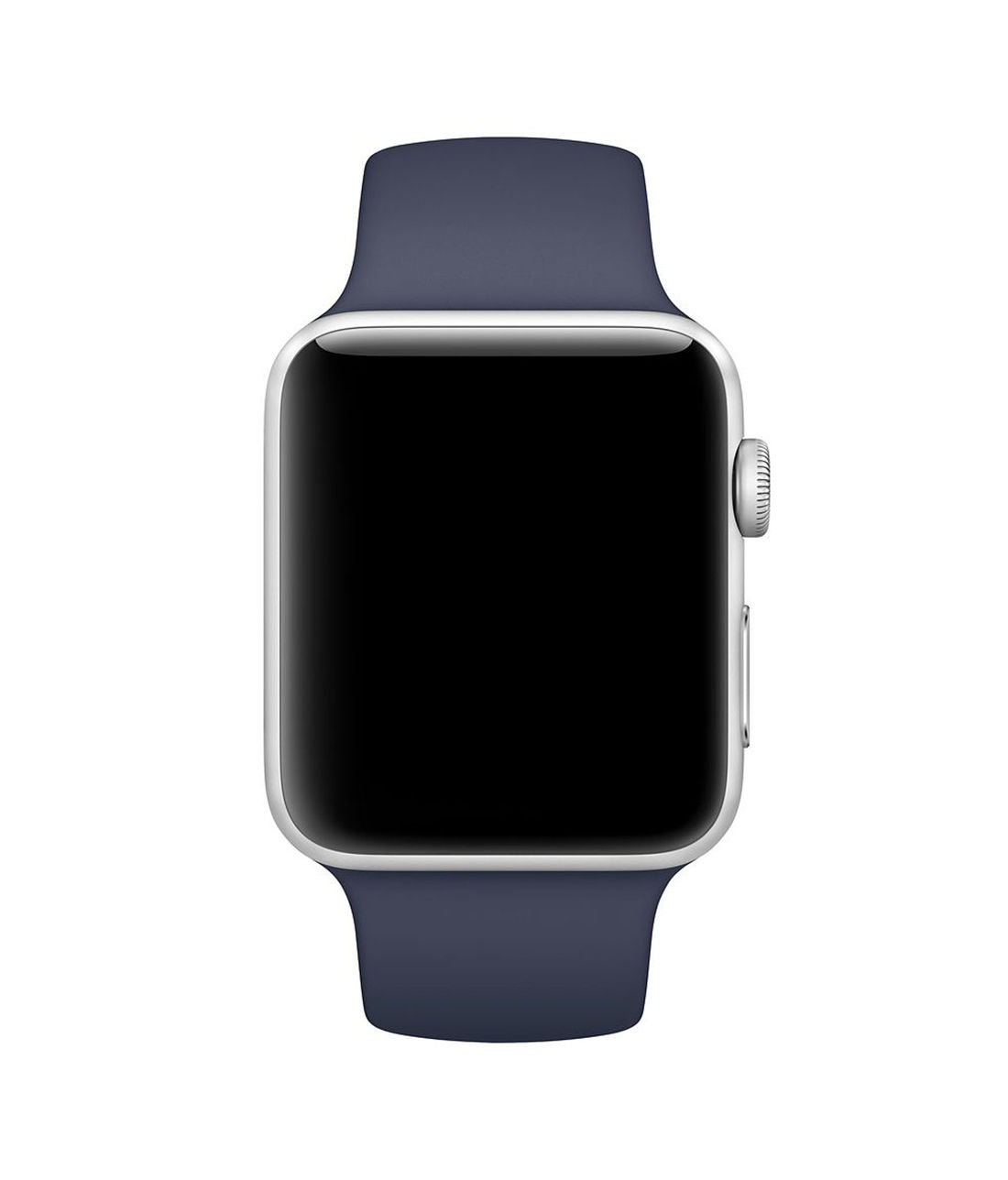 Midnight Blue - Silicone Apple Watch Band  (38 / 40 MM)