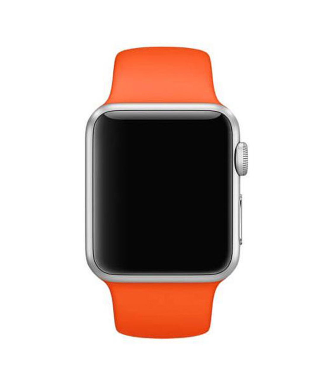 Oh So Orange - Silicone Apple Watch Band  (38 / 40 MM)
