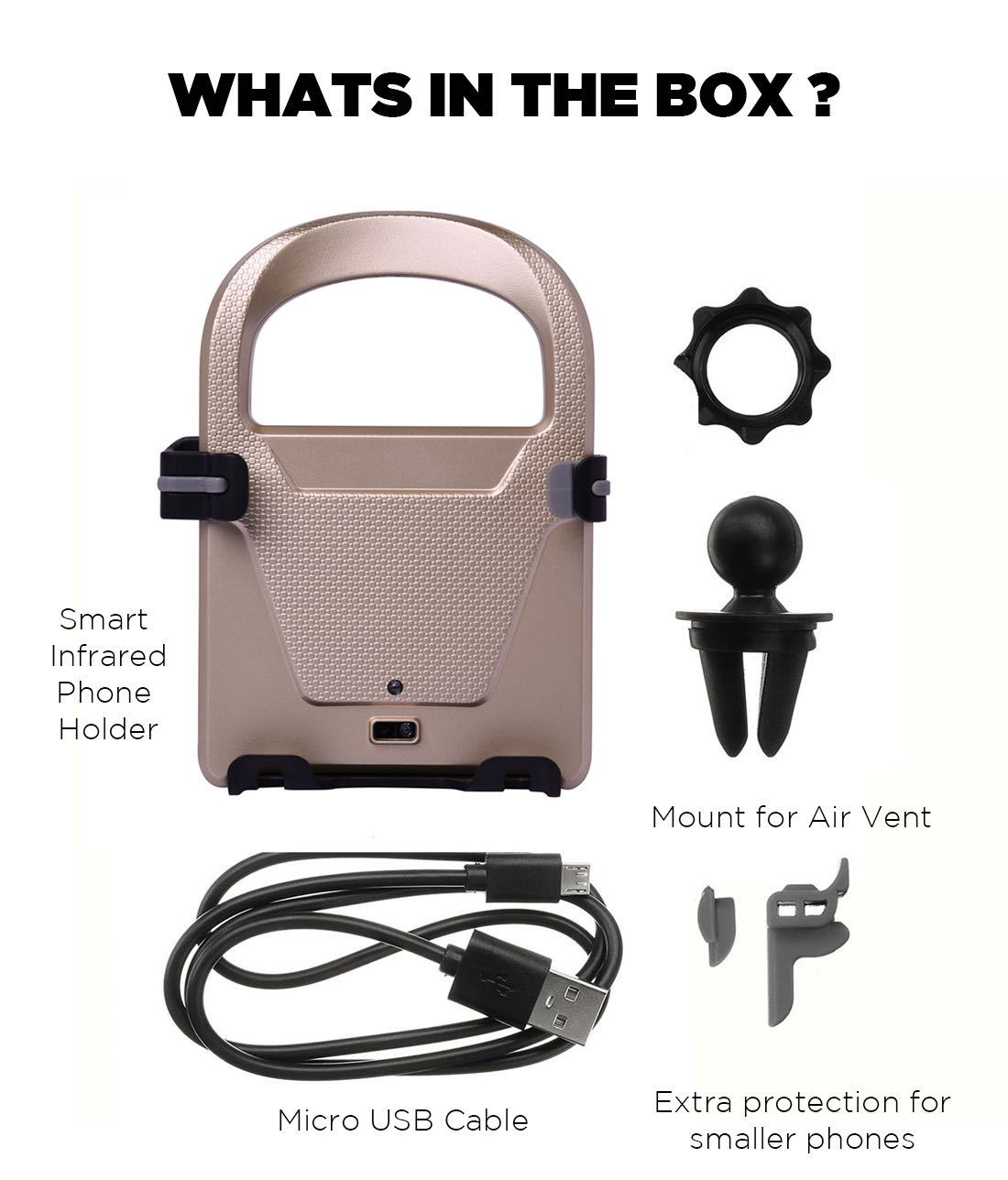 Macmerise Autobot Lite - Automatic Car mount