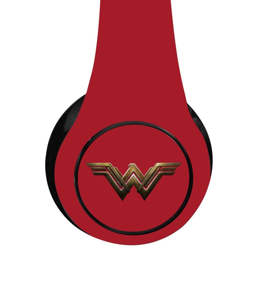 Logo Wonder Woman - Decibel Wireless On Ear Headphones
