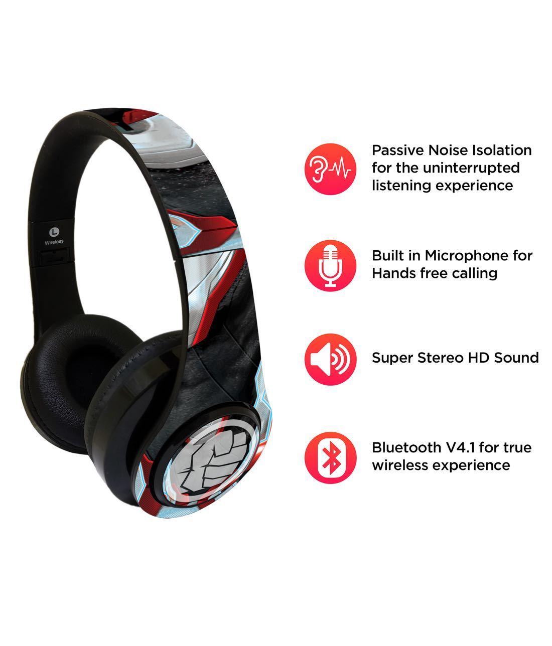 Endgame Suit Hulk - Decibel Wireless On Ear Headphones