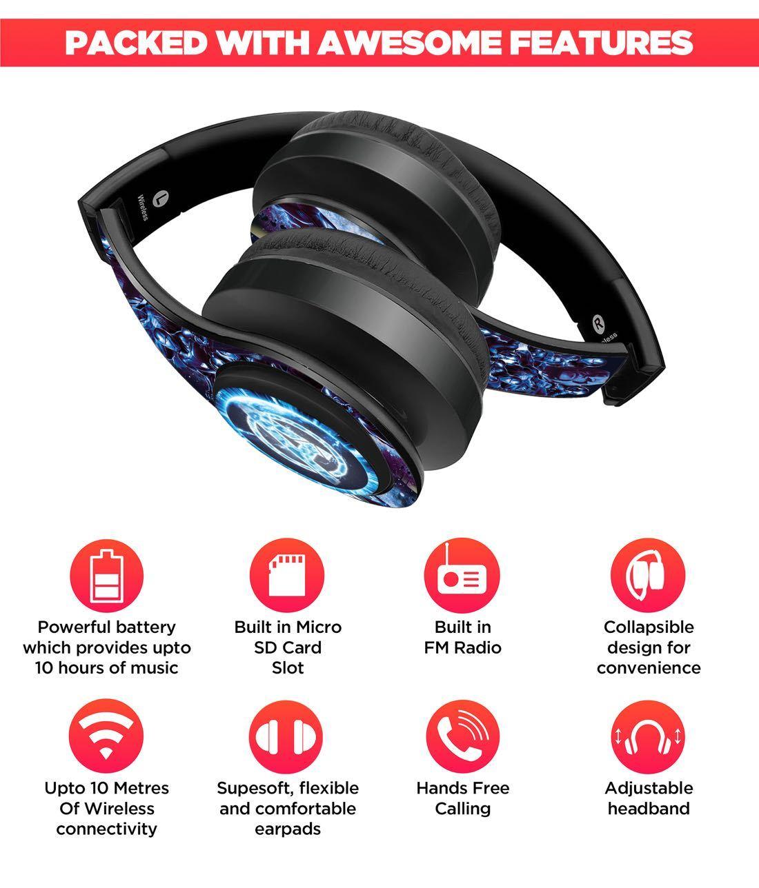 Avengers Endgame Hurricane - Decibel Wireless On Ear Headphones