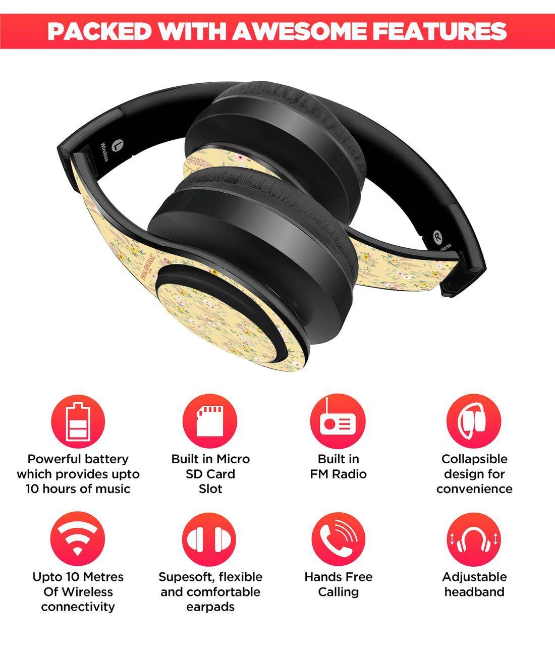 Payal Singhal Lemon Garden - Decibel Wireless On Ear Headphones