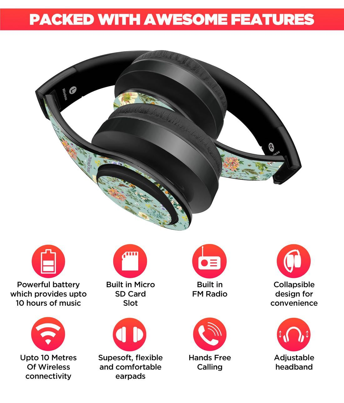Payal Singhal Titli Aqua - Decibel Wireless On Ear Headphones