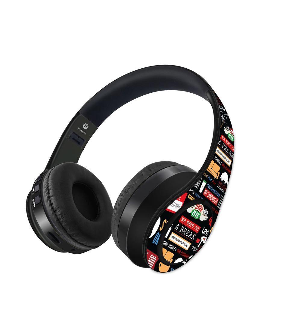 Friends Infographic - Decibel Wireless On Ear Headphones