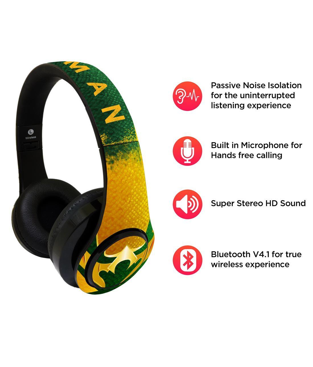 Suit up Aquaman - Decibel Wireless On Ear Headphones