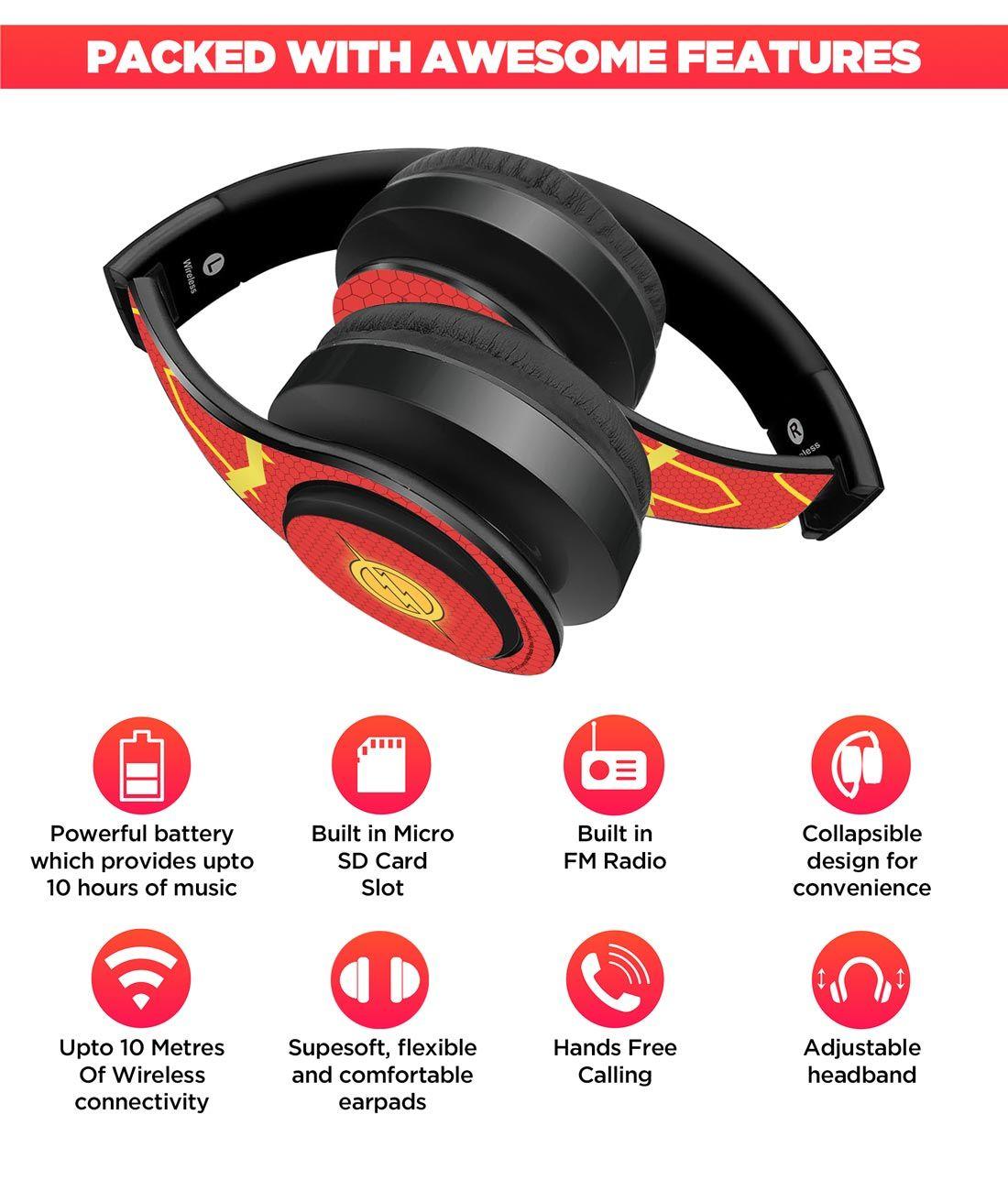 Suit up Flash - Decibel Wireless On Ear Headphones