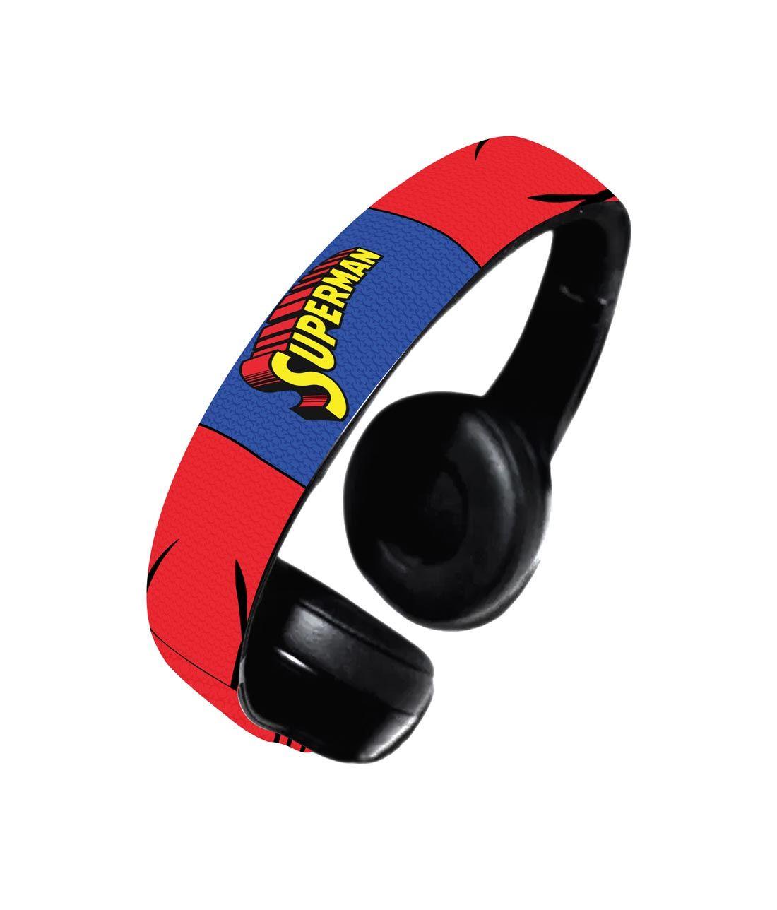 Suit up Superman - Decibel Wireless On Ear Headphones